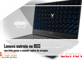 Lenovo estreia na BGS com linha gamer e estande repleto de atrações