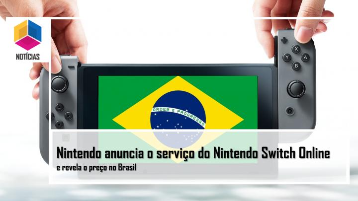 Nintendo anuncia o serviço do Nintendo Switch Online e revela o preço no Brasil