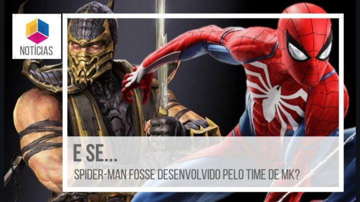 E se Marvel's Spider-Man fosse produzido pelo time de Mortal Kombat?