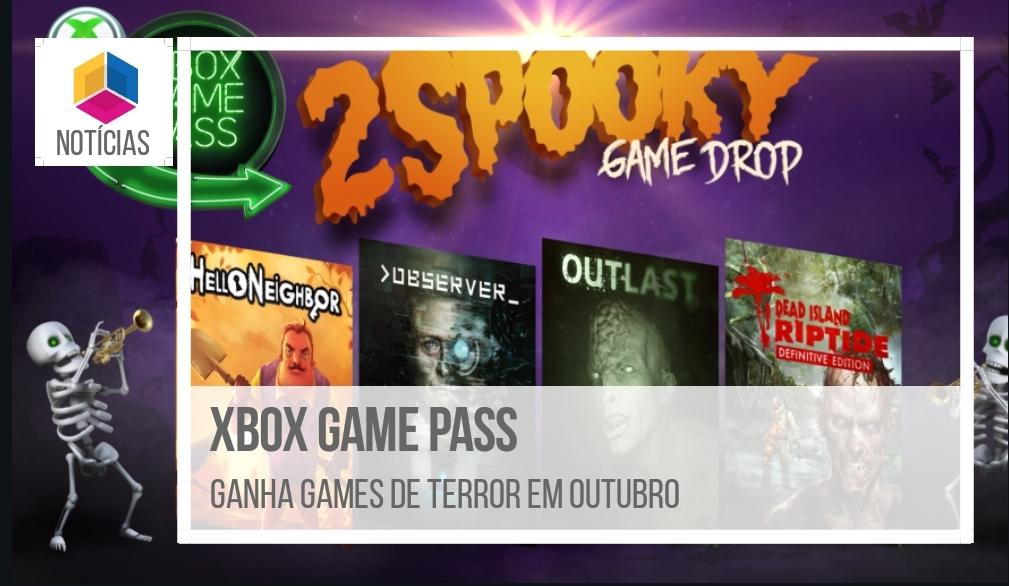 Xbox Game Pass – Ganha games de terror em outubro