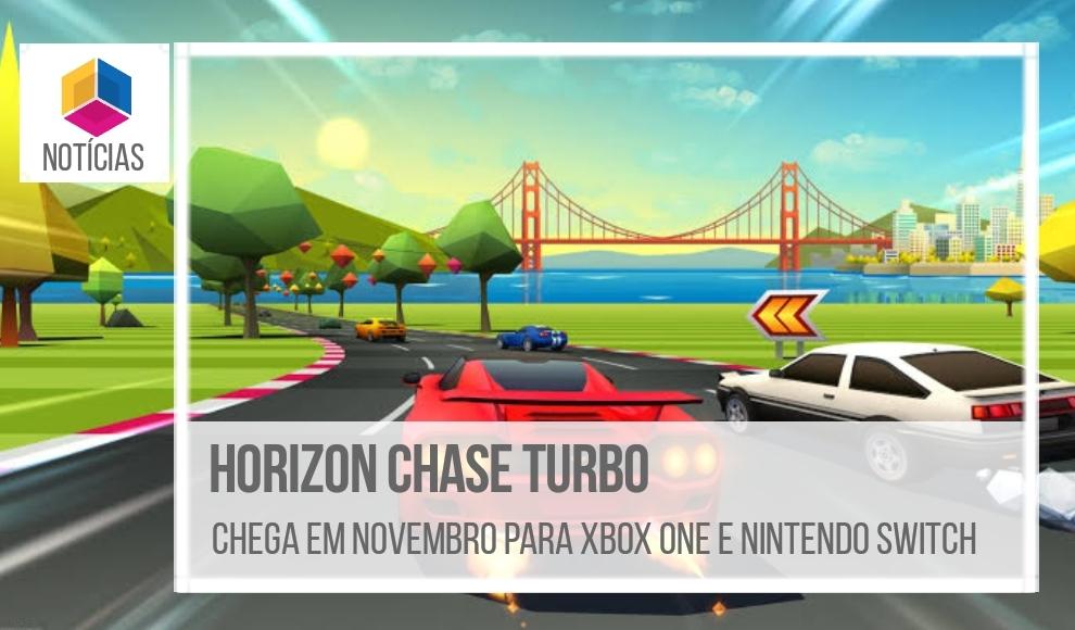 Horizon Chase Turbo – Chega em novembro para Xbox one e Nintendo Switch