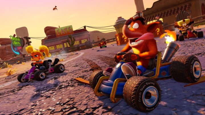 Crash Team Racing Nitro-Fueled ganha novo trailer com mais detalhes