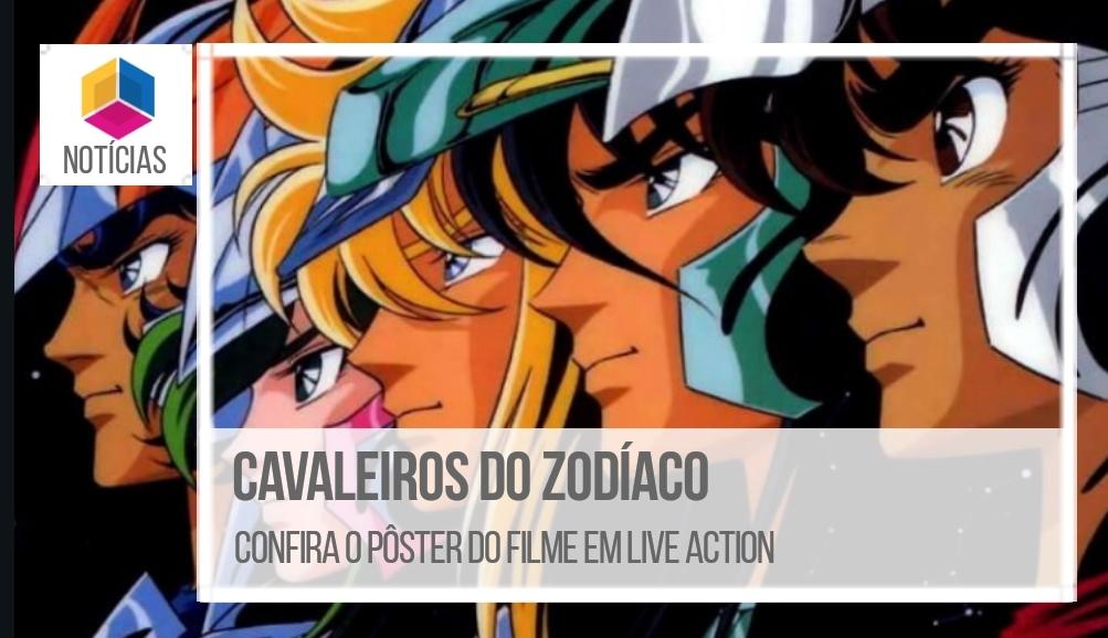 Cavaleiros do Zodíaco – Confira o pôster do filme em Live Action