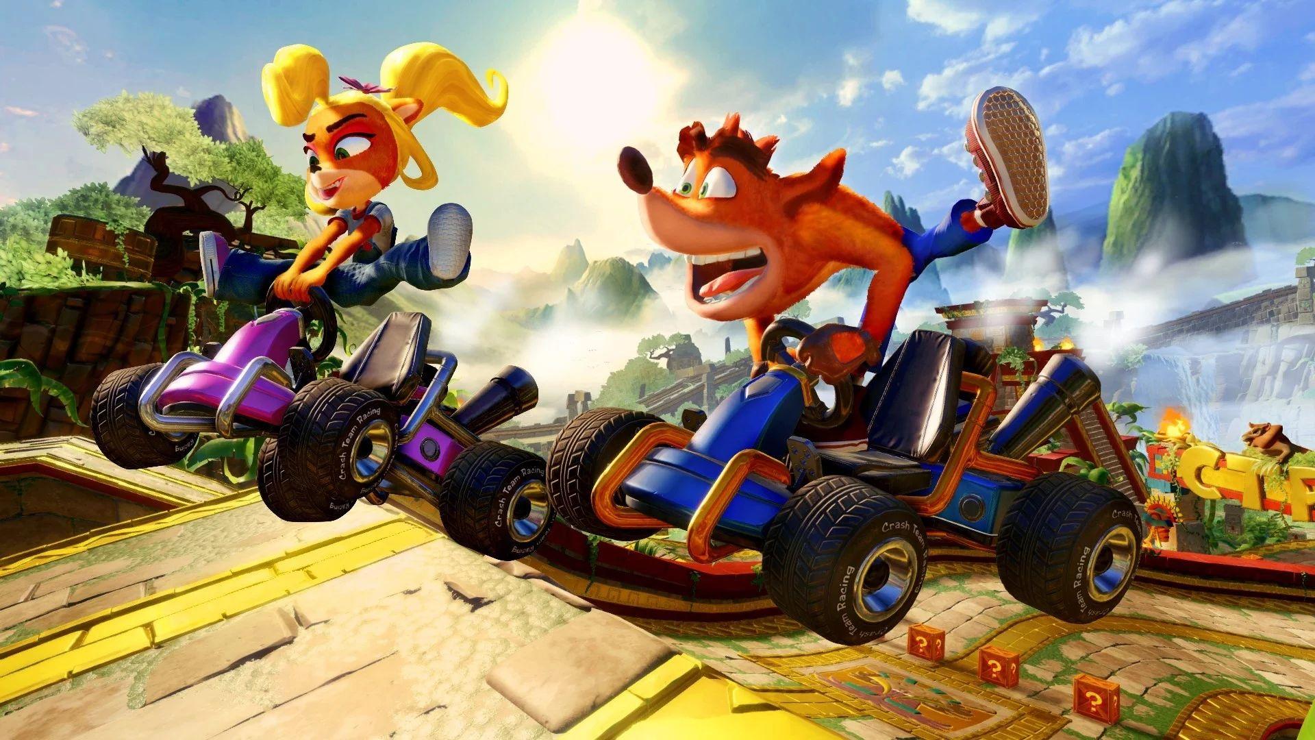 Crash Team Racing Nitro-Fueled – Confira gameplay em novo vídeo divulgado
