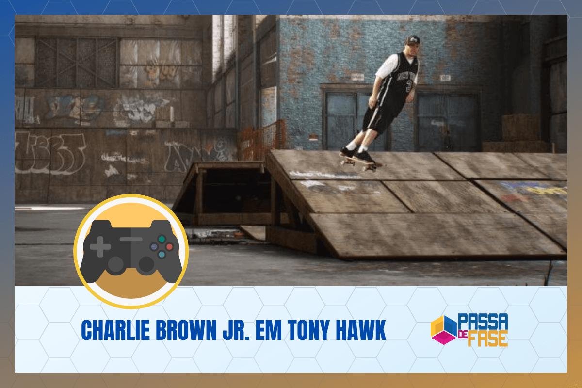 Tony Hawk's Pro Skater 1 and 2 – Confirmado Charlie Brown Jr. na trilha sonora do game