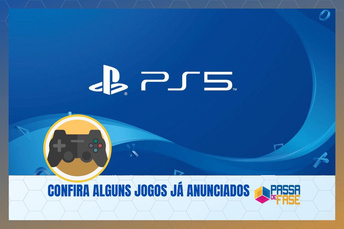 Playstation 5: Confira alguns jogos já anunciados