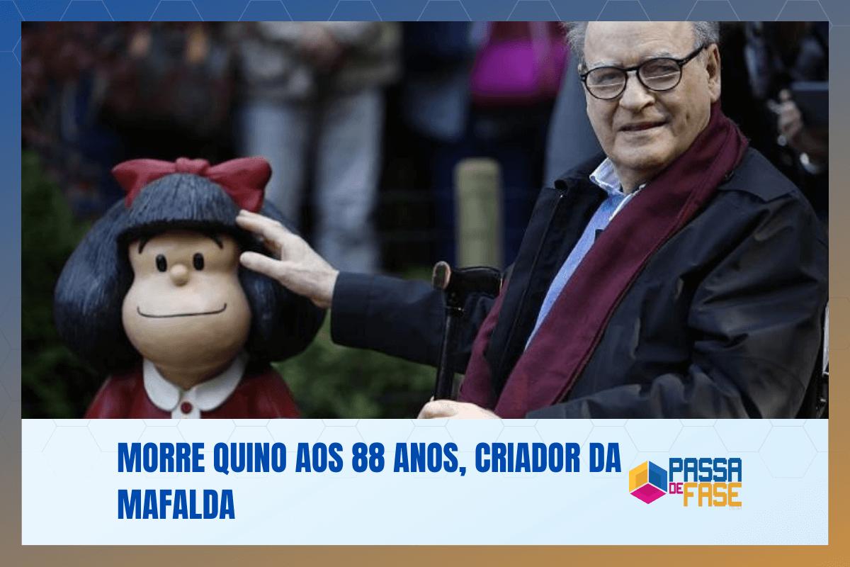 Morre Quino aos 88 anos, criador da Mafalda