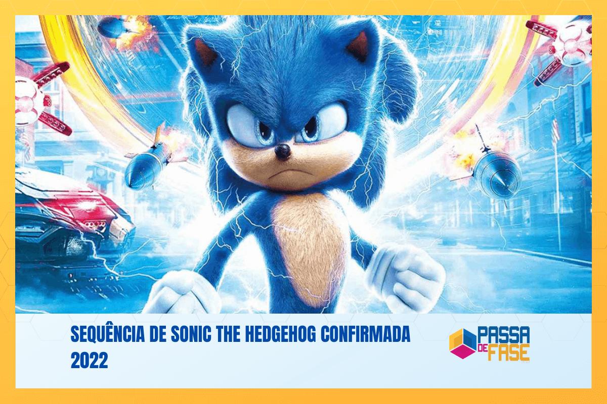 Sequência de Sonic the Hedgehog confirmada 2022