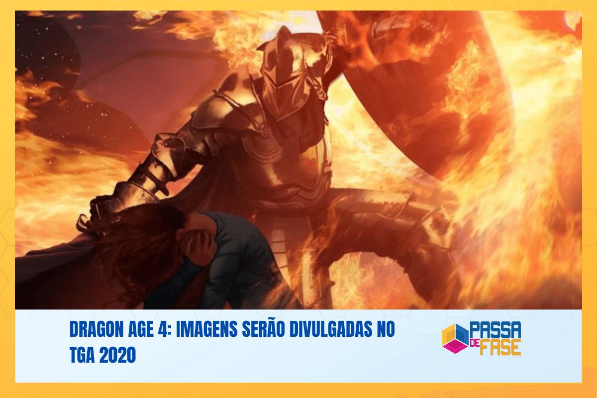 Dragon Age 4: Imagens serão divulgadas no TGA 2020