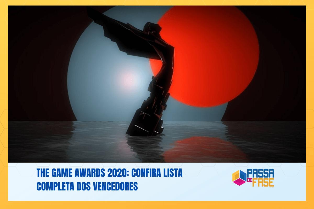 The Game Awards 2020: Confira lista completa dos vencedores