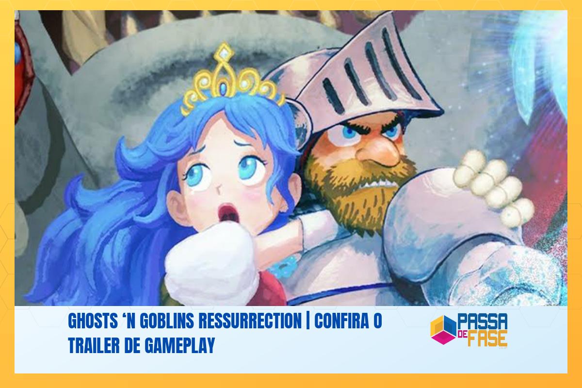 Ghosts 'n Goblins Ressurrection | Confira o trailer de gameplay