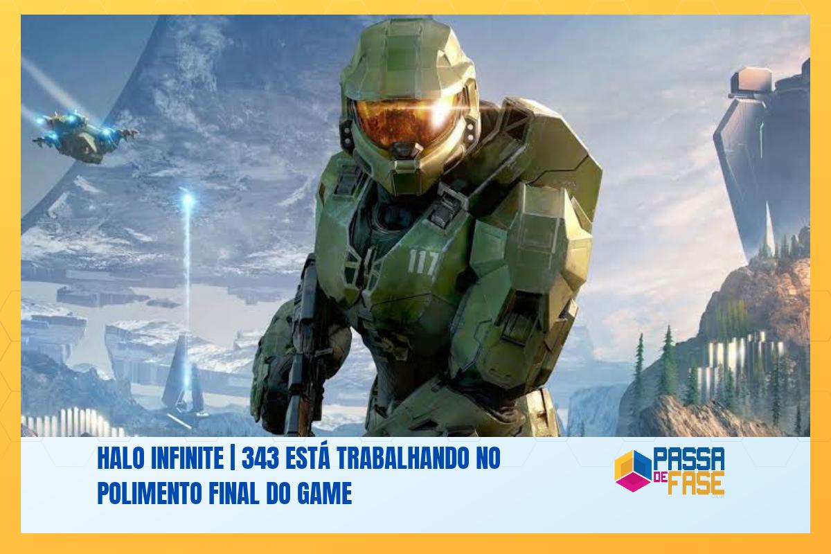 Halo Infinite | 343 está trabalhando no polimento final do game