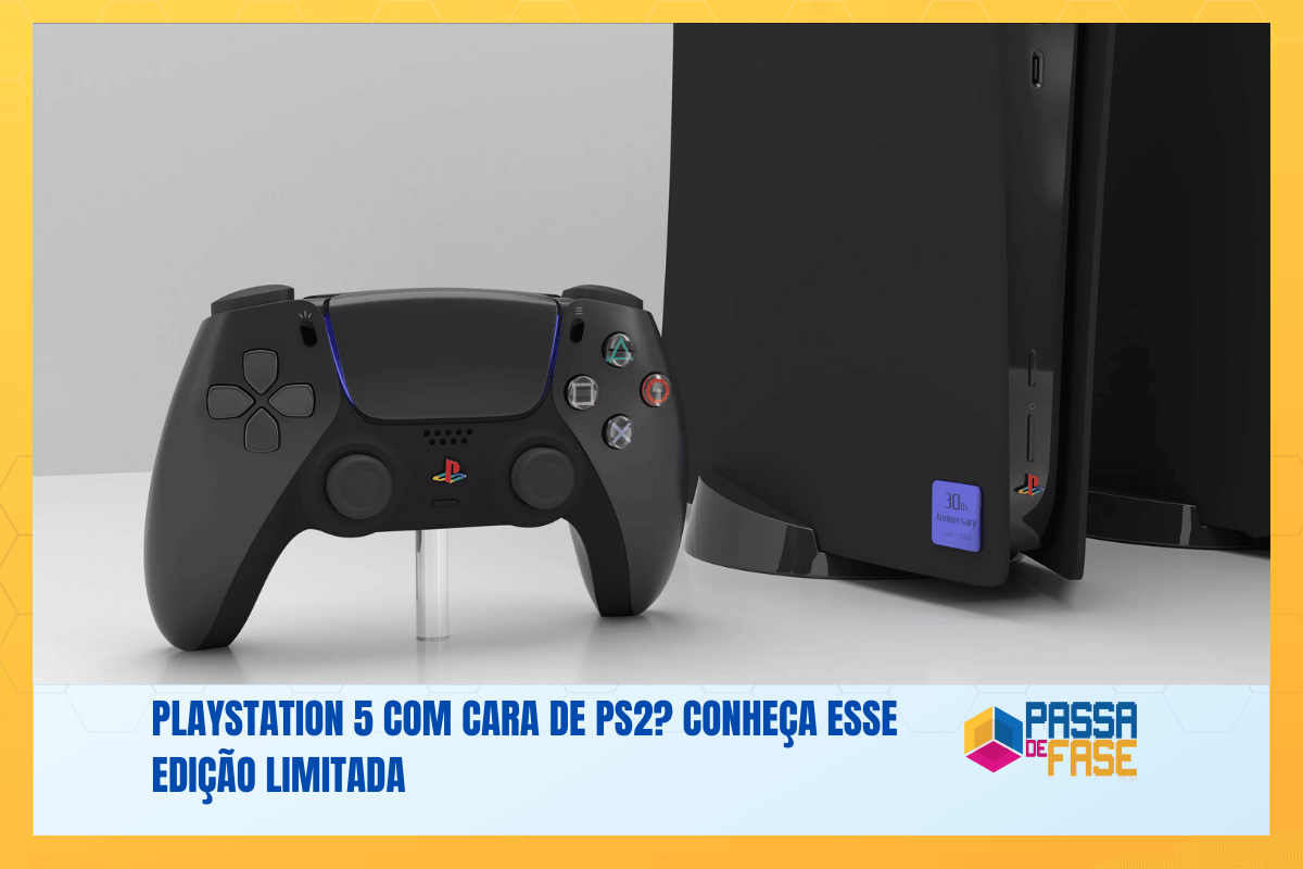PlayStation 5 com cara de PS2? Conheça esse edição limitada