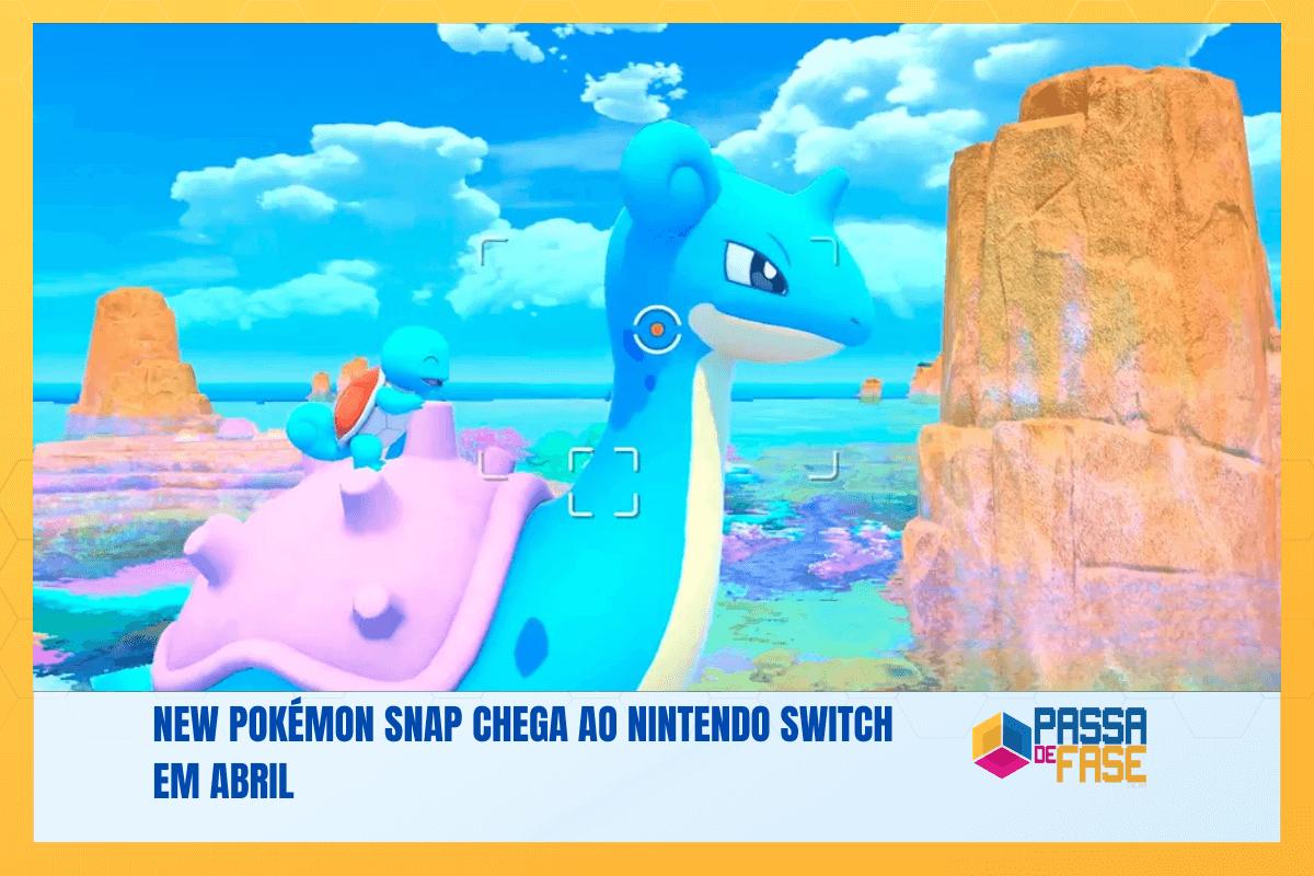 New Pokémon Snap chega ao Nintendo Switch em abril