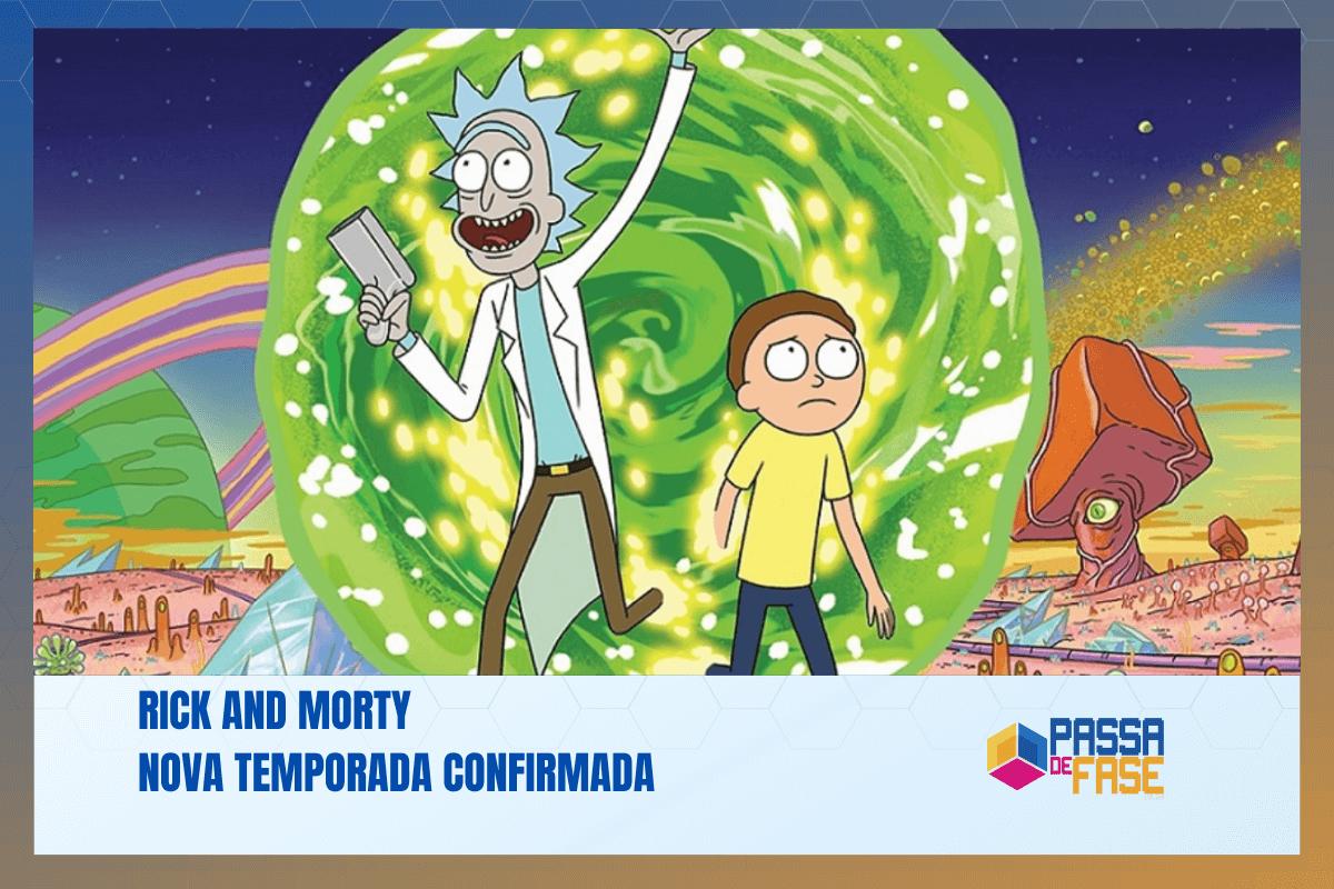 Rick and Morty | Nova temporada confirmada