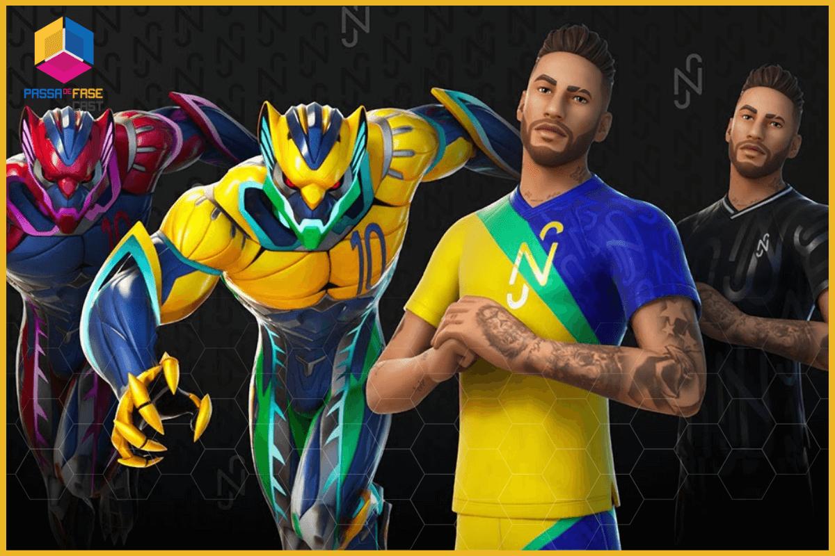 Fortnite | Confira a skin de Neymar Jr para o game